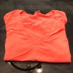 Pink Victoria Secret Short Sleeve Shirt